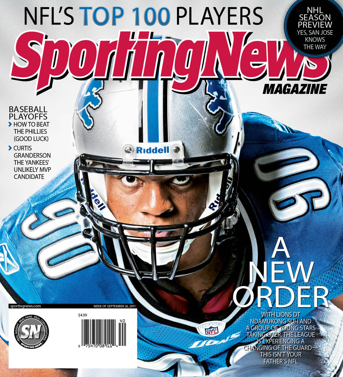 Sporting News Magazine cover, Ndamukong Suh