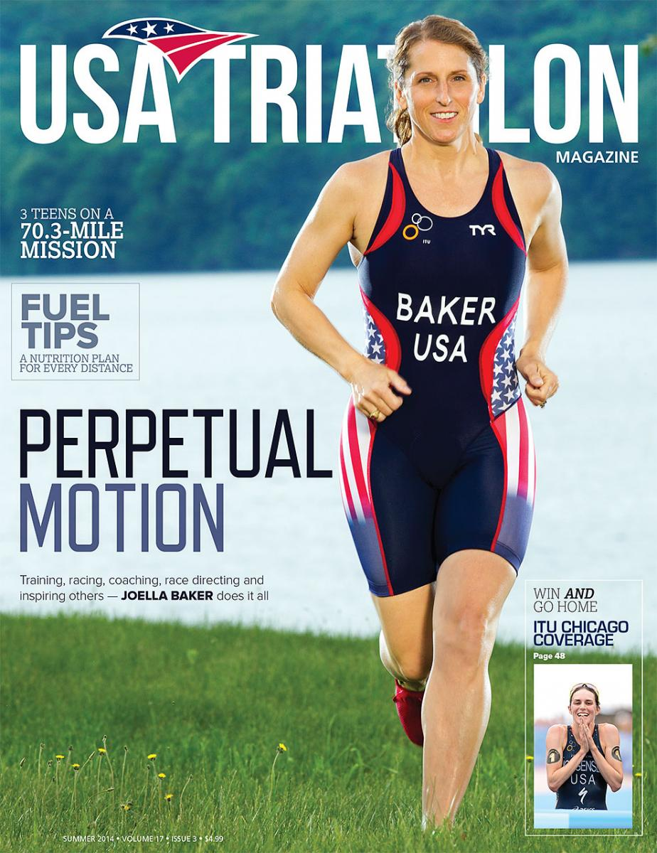 USA Triathlon, magazine cover